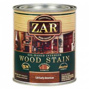 United Gilsonite Laboratories 12812 Zar Oil Based Wood Stain Early American, Quart