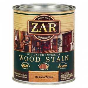 United Gilsonite Laboratories 12912 Oil Based Wood Stain Amber Varnish, Quart