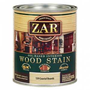 United Gilsonite Laboratories 13912 Zar Oil Based Wood Stain Coastal Boards, Quart