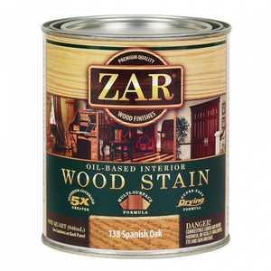 United Gilsonite Laboratories 13812 Zar Oil Based Wood Stain Spanish Oak, Quart