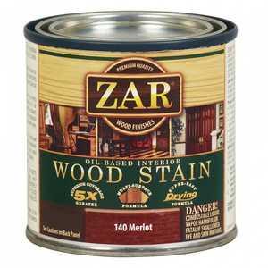 United Gilsonite Laboratories 14012 Zar Oil Based Wood Stain Merlot, Quart