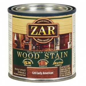 United Gilsonite Laboratories 12806 Zar Oil Based Wood Stain Early American, 1/2 Pt
