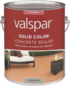 Valspar 82020 Concrete Gray Solid Color Concrete Sealer One Gal
