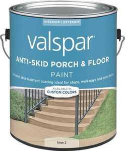 Valspar 024.0082032.007 Anti-Skid Enamel Porch And Floor Paint Base 2 1 Gal