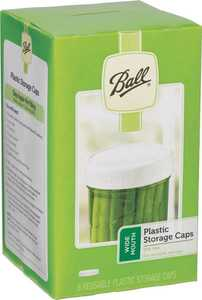 Jarden Home Brands 37000 Wide Mouth Plastic Storage Caps
