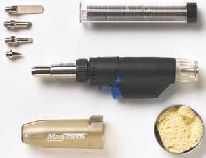 Magna 7861784 Torch Butane Micro Kit W/Case