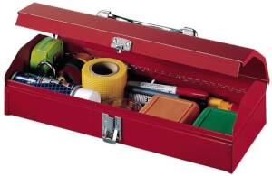 Stack-On R-515 15 in Gadget Tool Box, Red