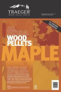 Traeger PEL308 Maple Grill Pellets 20-Lb