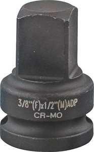 MintCraft MT6580303 3/8 In F X 1/2 In M Impact Drive Adaptor