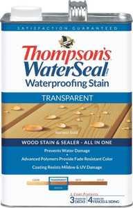 Thompsons 6530943 Stain Waterproof Tran Harvestgold 1 Gal