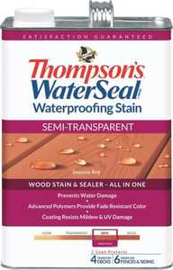Thompsons 6531099 Stain Waterpr Semitran Acbn 1 Gal