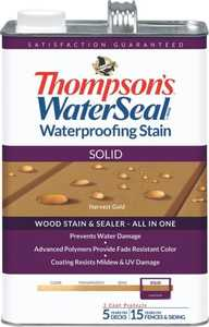 Thompsons 6531156 Stain Waterpr Sol Acorn Brn 1 Gal
