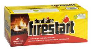 Duraflame 02444/45 Firestart Firelighters 6-Oz 24-Pack
