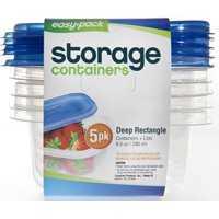 FLP 8061 Rectangle Container 5pk