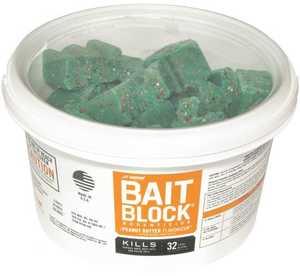 J.T. Eaton & Co., Inc. 4421053 Bait Block Peanut Butter Flavor Rodent Killer