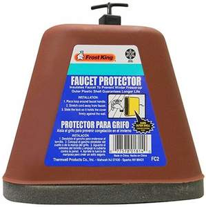 THERMWELL FROST KING FC2 Hard Plastic Faucet Cover