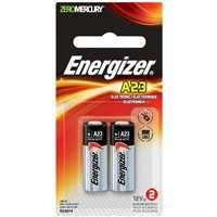 Energizer Battery A23BPZ-2 A23 Elec. Battery No-Mercury