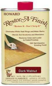Howard Berger 6435499 16 oz Drk Wlnt Finish Restorer