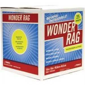Trimaco 4556932 16x16 Microfiber Wonder Rag