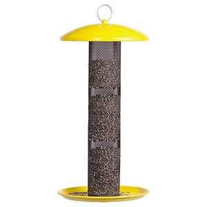 Perky Pet YSSF00346 Straight Sided Finch Tube Wild Bird Feeder