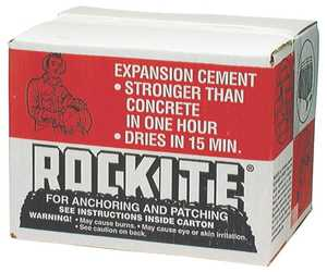 Hartline Products 6210405 25 Lb Anchoring Patching Rocktite Cement