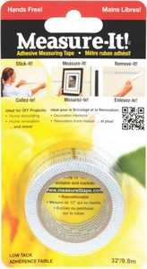 Intertape MI32BP Measure-It Adhesive Tape 32 Ft X1 In