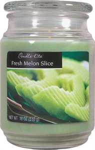 CANDLE LITE CORP 3297312 Fresh Melon Slice Scented Jar Candle 18 oz