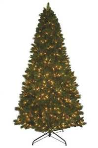 General Foam OR-RAF145449 9 ft Pre-Lit Holiday Christmas Tree