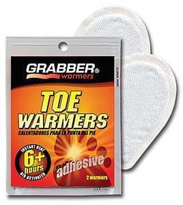 Grabber 6561161 Adhesive Toe Warmers 2 Pack
