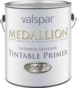Valspar 192 Medallion Inerior/Exterior Tintable Primer Gray 1 Qt