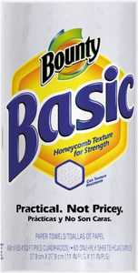Procter & Gamble 2239614 Bounty Basic 1-Ply Paper Towels