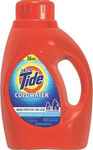 Procter & Gamble 87352 Tide 2x Ultra Coldwater 50 Oz