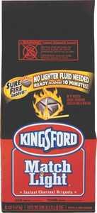 Kingsford 31259 11-1/2-Pound Black Match-Light Charcoal
