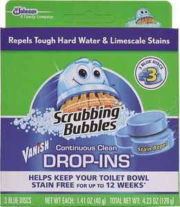 Sc Johnson 7020167 Scrubbing Bubbles Vanish Toilet Bowl Cleaner Drop-Ins
