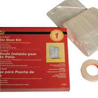 M-D Building Products 04283 Patiodoor Shrnk/Sealkit 84x112