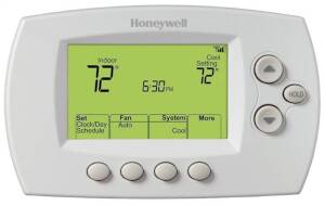 Wi-Fi Enabled Digital Thermostat 7-Day/4 Times-A-Day Programmable