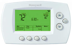 Honeywell RTH6580WF1001/W Wi-Fi Enabled Digital Thermostat 7-Day/4 Times-A-Day Programmable