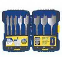 Irwin 341008 8pc Speedbor Spade Bit Set