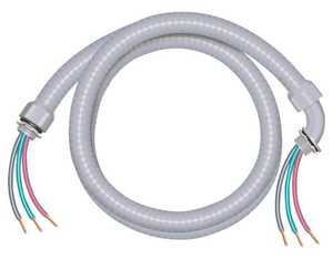 Southwire 55189301 Liquid Tight Flexible Wiring Whip 3/4 in X6 ft