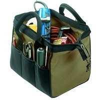 Custom Leathercraft 1161 23-Pocket 12-Inch Big Mouth Tool Bag