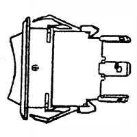 United States Hardware 6015119 3way Bilge Pump Switch