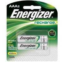 Energizer Battery NH12BP-2 Recharg Nimh Aaa Battery 2pk