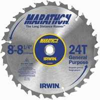 Irwin 14050 Saw Blade Rip/Combo 8-1/4 in