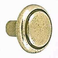 Amerock BP1308O77 Burn Brass Traditional Knob