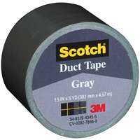 3M 1005-GRY-IP 1.5 in X5YD Grey Cloth Tape