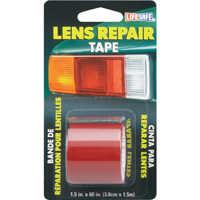 Incom Manufacturing RE36034 Red Lens Repair Tape 1.5 x 5 ft