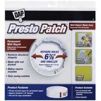 Dap 09157 Presto Patch Plug 1/2 x 6-7/8