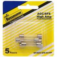 Bussmann Fuses BP/AGC-SFE-A5-RP Assorted Domestic Fuses Agc/Sfe