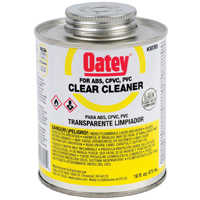 Oatey 30795 16 oz Lovoc Pvc Clear Cleaner