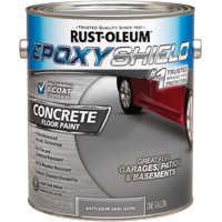 Rust-Oleum 0629238 Concrete Floor Paint Bship Gry
